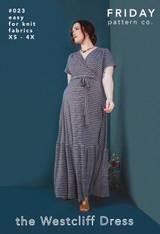 The Westcliff Dress by Friday Pattern Company | Blackbird Fabrics