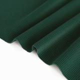 Ribbed Poly Swim Tricot - Spruce | Blackbird Fabrics