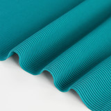 Ribbed Poly Swim Tricot - Bright Teal | Blackbird Fabrics