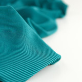 Ribbed Poly Swim Tricot - Bright Teal   Blackbird Fabrics