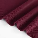 Ribbed Poly Swim Tricot - Port | Blackbird Fabrics