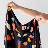 Printed Repreve Polyester Swim Tricot - Terrazzo | Blackbird Fabrics