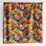 Printed Repreve Polyester Swim Tricot - Retro Floral Garden - 1/2 meter