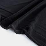 Poly Swimwear Lining - Black - 1/2 meter