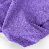 Heathered Athletic Knit - Ultraviolet | Blackbird Fabrics