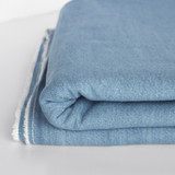 8oz Non-Stretch Bleached Denim - Light Indigo | Blackbird Fabrics