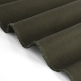 8.5oz Cotton Chino Twill - Dark Olive | Blackbird Fabrics