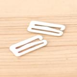 Metal Strap Hook - White | Blackbird Fabrics