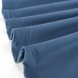 100% Organic Cotton Jersey Knit - Ocean  | Blackbird Fabrics