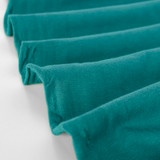 100% Organic Cotton Jersey Knit - Deep Teal | Blackbird Fabrics