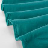 100% Organic Cotton Jersey Knit - Deep Teal | Blackbird Fabrics