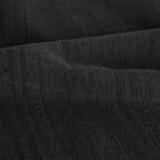 Textured Cotton Linen Jacquard - Black | Blackbird Fabrics