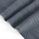 Textured Cotton Linen Jacquard - Slate Blue | Blackbird Fabrics