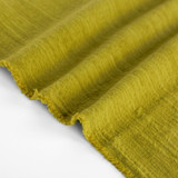 Textured Cotton Linen Jacquard - Chartreuse | Blackbird Fabrics