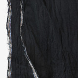 Linen Gauze - Black | Blackbird Fabrics