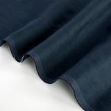 5.5oz Softened Linen - Sapphire | Blackbird Fabrics