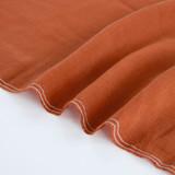 Lyocell Linen Slub - Rust | Blackbird Fabrics