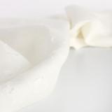 Linen Jacquard - Ivory | Blackbird Fabrics