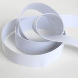 "1½"" (38mm) Soft Woven Elastic - White | Blackbird Fabrics"