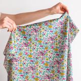 Rachel Tana Lawn Cotton - Pink/Aqua | Blackbird Fabrics