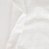 Geo Cotton Eyelet - Ivory | Blackbird Fabrics