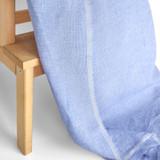 Mini Gingham Linen - Blue/White | Blackbird Fabrics
