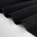 Lightweight Cotton Voile - Black   Blackbird Fabrics