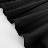 Tencel Jersey Knit - Black | Blackbird Fabrics