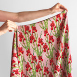 Watercolour Bloom Printed Viscose Crepe - Multi   Blackbird Fabrics