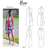 Bree Dress by Style Sew Me | Blackbird Fabrics