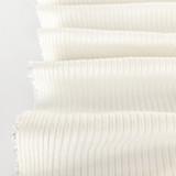 Medium Weight Bamboo Rib Knit - Ivory | Blackbird Fabrics
