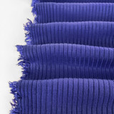 Medium Weight Bamboo Rib Knit - Royal Blue | Blackbird Fabrics