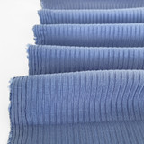 Medium Weight Bamboo Rib Knit - Periwinkle | Blackbird Fabrics