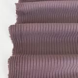 Medium Weight Bamboo Rib Knit - Raisin | Blackbird Fabrics