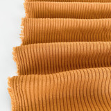 Medium Weight Bamboo Rib Knit - Pale Ochre | Blackbird Fabrics