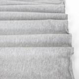 Cotton Modal Jersey Knit - Light Heather Grey | Blackbird Fabrics