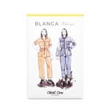 Blanca Flight Suit by Closet Core Patterns | Blackbird Fabrics