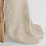 Crosshatch Linen - Oatmeal   Blackbird Fabrics