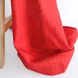 Mini Check Lightweight Linen - Paprika | Blackbird Fabrics