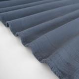 Textured Cotton Double Cloth - Slate Blue | Blackbird Fabrics
