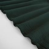 Textured Cotton Double Cloth - Midnight Spruce | Blackbird Fabrics