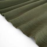 Textured Cotton Double Cloth - Olive | Blackbird Fabrics