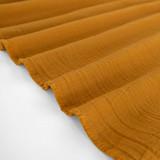 Textured Cotton Double Cloth - Warm Ochre | Blackbird Fabrics