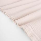 Textured Cotton Double Cloth - Sheer Pink | Blackbird Fabrics
