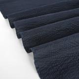Japanese Crinkle Cotton - Navy   Blackbird Fabrics