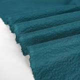 Japanese Crinkle Cotton - Teal   Blackbird Fabrics