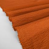 Japanese Crinkle Cotton - Rust   Blackbird Fabrics
