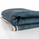 13oz Japanese Non-Stretch Denim - Antique Blue | Blackbird Fabrics