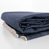12oz Japanese Non-Stretch Crosshatch Denim - Indigo | Blackbird Fabrics