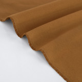 10oz Organic Cotton Duck Canvas - Teak | Blackbird Fabrics